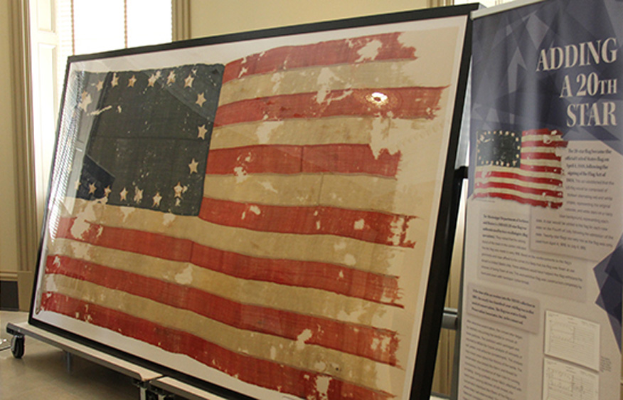 Icons of Statehood Exhibit at Winter Building
